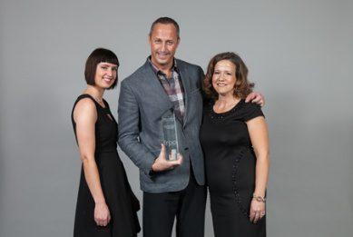 Roy Jason Ashdown accepts the Rental Development of the Year Award